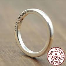old rings silver images 925 pure silver ring vintage hipster minimalist men women 39 s rings jpg