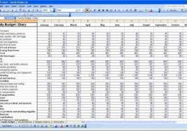 free expenses spreadsheet template for small business and small