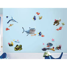 Giant Wall Stickers For Kids Finding Nemo Wall Decals Roselawnlutheran