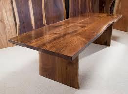 Walnut Dining Room by The Dunton Custom Walnut Crotch Slab Dining Table Harvest Tables