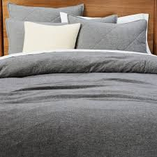 flannel bed linen west elm uk