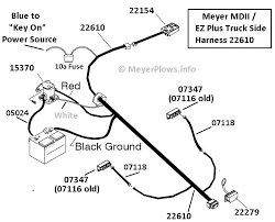 meyers plow light wiring diagram chevy meyers plow electrical