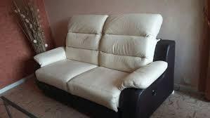 canapé cuir relax electrique 3 places achetez canapé cuir relax occasion annonce vente à clermont ferrand