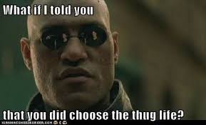 Thug Life Memes - 20 best i didn t choose the thug life memes smosh on imgfave