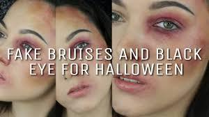 Black Eye Halloween Makeup How To Make A Fake Black Eye Without Makeup Mugeek Vidalondon