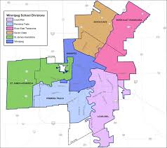 winnipeg map winnipeg divisions map