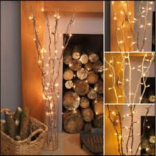 85 cm wooden led twig lights tree branches battery operated