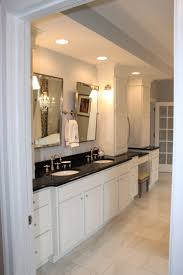 white bathroom cabinets with black countertops best bathroom