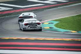 Lamborghini Huracan Back View - lamborghini huracán performante automobile magazine