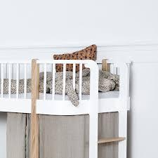 Oliver Furniture Wood Oliver Furniture Halbhohes Hochbett Wood Eiche Online Kaufen