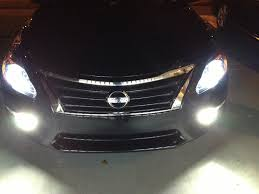 nissan versa yellow fog lights 2013 altima head lights page 3 nissan forums nissan forum