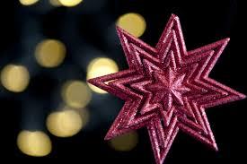free stock photo 3603 christmas star lights freeimageslive