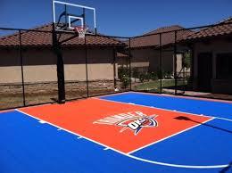 basketball courts with lights near me recreational courts versasport of kansas inc