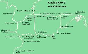 Great Loop Map Cades Cove Tn Smoky Mountain National Park Driving Tour Part 1