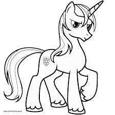 my little pony coloring pages shining armor