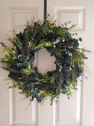 preserved 30 inch wreath wreath large wreath small wreath