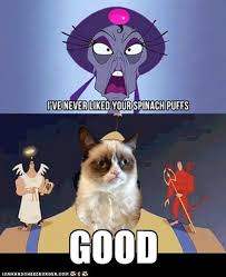 Unamused Cat Meme - grumpy cat s response to johnny test by trc tooniversity on deviantart