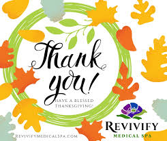 free treatment thanksgiving specials revivify spa