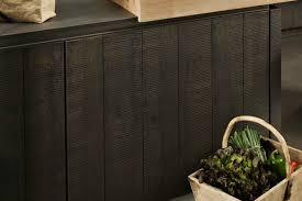 facade cuisine bois brut les façades