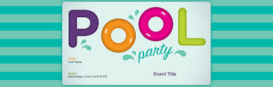 100 free pool party invitation template printable baby
