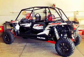 we got the brand new polaris rzr xp 4 1000 which one do you want