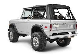 white bronco car early model ford bronco builds classic ford broncos