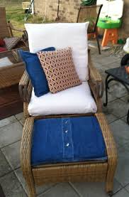 Patio Chair Cushions Set Of 4 by Patio 56 Patio Chair Cushion Covers Lawn Chair Cushions