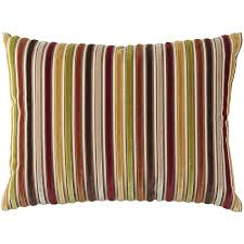 Striped Home Decor Fabric Warm Velvet Striped Pillow Pier 1 Imports