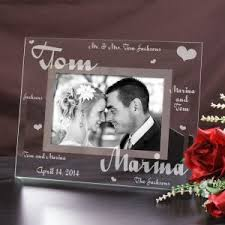 personalized wedding photo frame personalized picture frames giftsforyounow