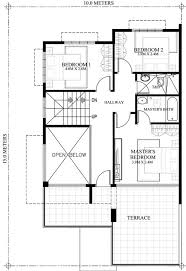 A 4 Bedroom House Celestino Is A 4 Bedroom House Plan That Can Be Built In 10 Meters