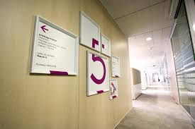 signaletique bureau megamark signalétique intérieure exhibition
