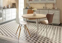 vinylboden für küche welcher boden für die küche