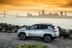 old yellow jeep 2017 jeep compass trailhawk first drive compass finally finds