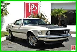 1969 Black Mustang Classic 1969 Ford Mustang Mach 1 Sportsroof In Wimbledon White
