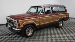 old jeep grand wagoneer 1986 jeep grand wagoneer youtube