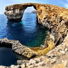 Azure Window by Azure Window Dwejra Gozo Victoria Malta The Azure Window Is