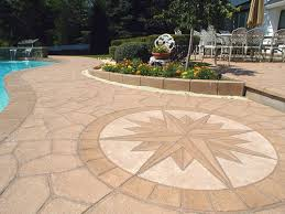fixing slippery stamped concrete near pools concrete decor