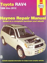 toyota rav4 automotive repair manual 1996 12 haynes automotive