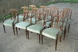 Antique Regency Dining Chairs A Set Of Twelve Georgian Dining Chairs Robert Adam History