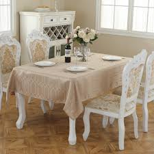 dining room tablecloths champagne gold decorative elegant table cloth linens for home