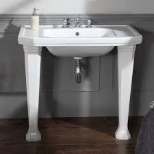 silverdale empire art deco 920mm console basin with legs online