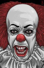 coloring pages of scary clowns pennywise the clown coloring pages bing images clowns coloring