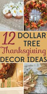 decorating on a budget 12 dollar tree thanksgiving decor ideas