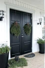beautiful front door christmas decorations nice handles pictures