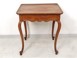 pieds bureau table cabaret louis xv bureau nmerisier sculpté pieds biches