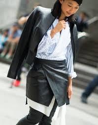 how to wear a skirt over pants or a dress fashiongum com