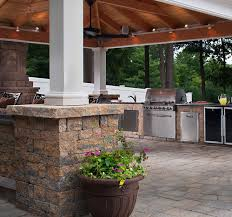 outdoor kitchen lighting ideas outdoor kitchens and lighting cutting edge hardscapes