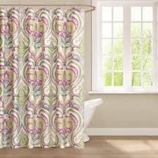Shower Curtains Bed Bath And Beyond Echo Design Vineyard Paisley 72 Inch X 72 Inch Shower Curtain