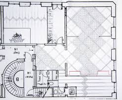 Versailles Floor Plan by Atelier Des Granges French Parquet Drawing Implantation Of The