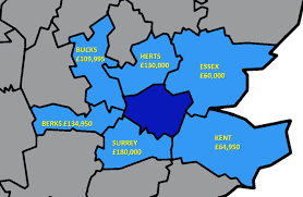 Bucks County Tax Map How Much Does It Cost To Buy Outside London Londonist